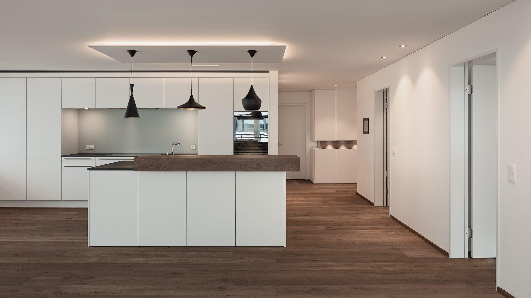 interieurfotografie, Innenarchitektur Neubauprojekt Mirador in Schwyz