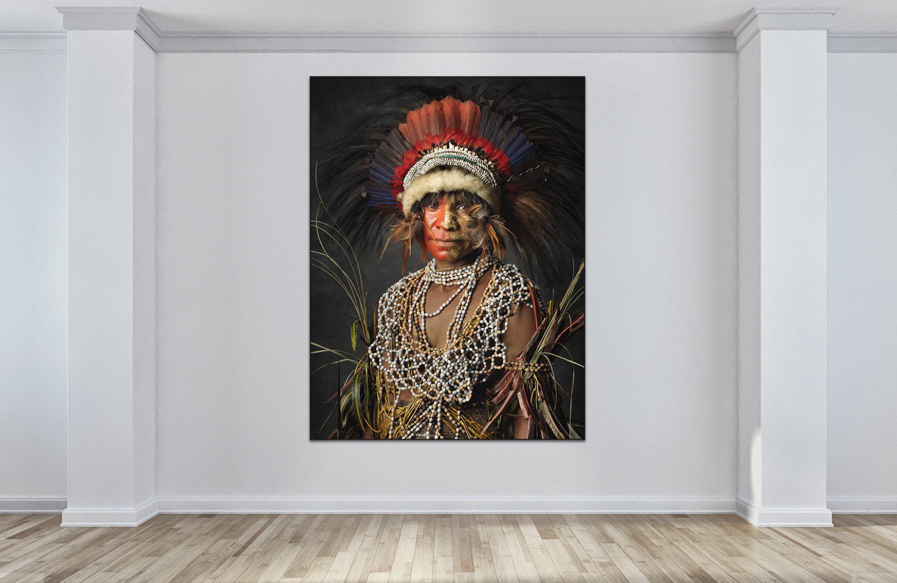 Faces of Papua New Guinea - Fine Art Portrait Serie - highland girl