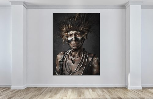 Faces of Papua New Guinea - Fine Art Portrait Serie - shy