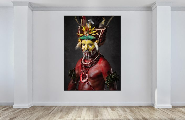 Faces of Papua New Guinea - Fine Art Portrait Serie - Tari Man