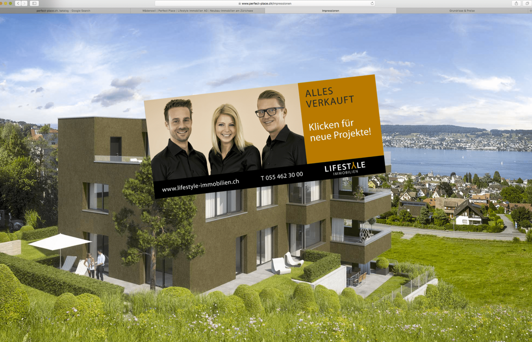 Immobilienverkauf Bilder für die Visualisierung von Gerry Pacher Photography