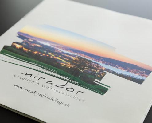 Verkaufsunterlagen von Mirador mit Bildern von Gerry Pacher Photography