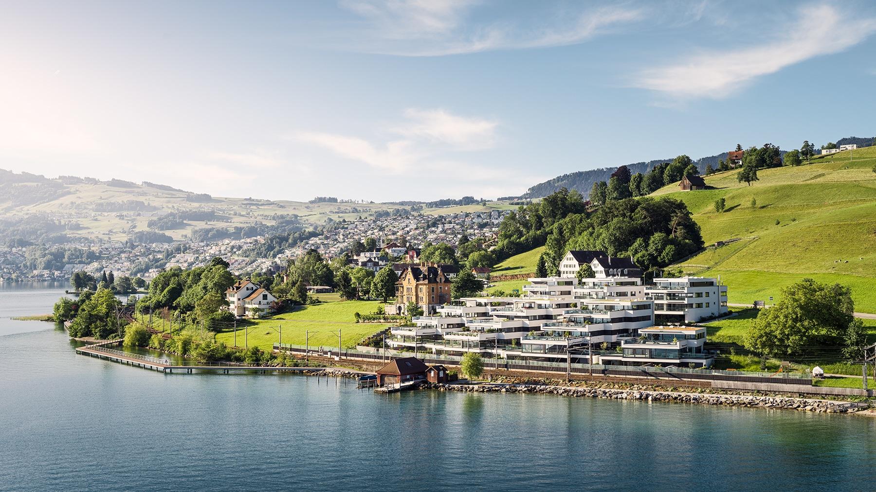 Seven Pearls - die Überbauung am Zürichsee in Richterswil