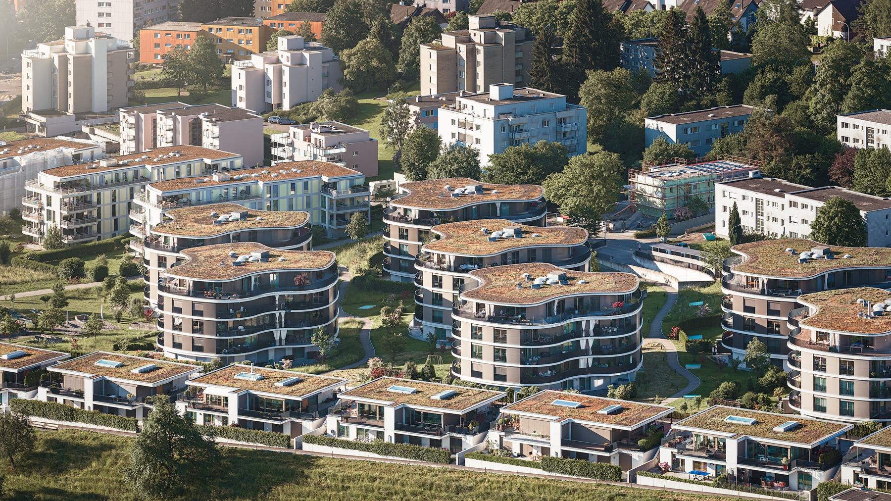Wädenswil - Wohnüberbauung - Aublickweg