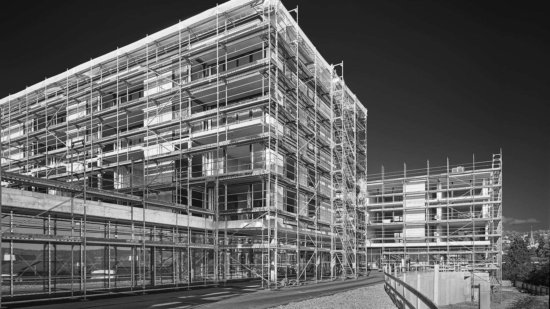 Dokumentation Bauprojekt WohnenPlus in Richterswil