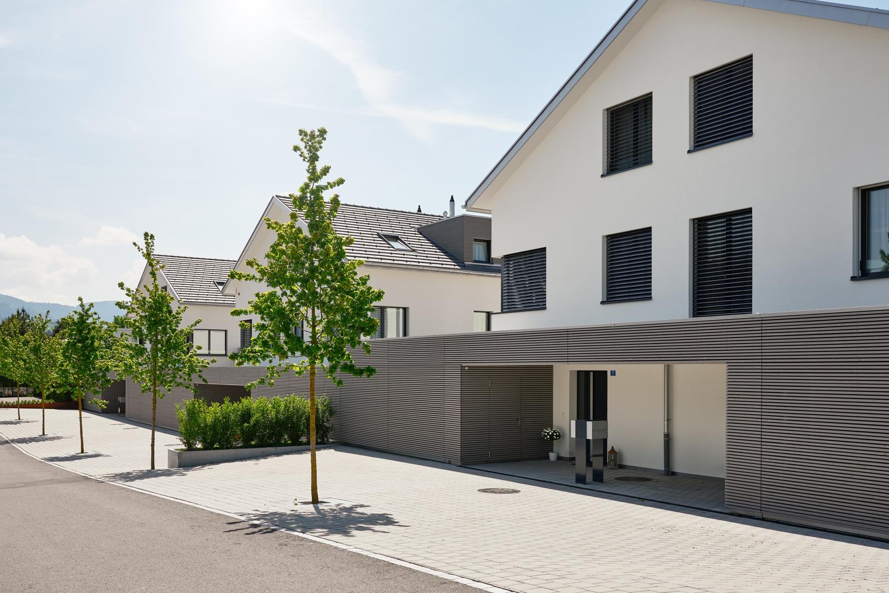 Architekturfotografie - Referenzobjekt - Richterswil - Altschloss / Mächler Generalunternehmung AG