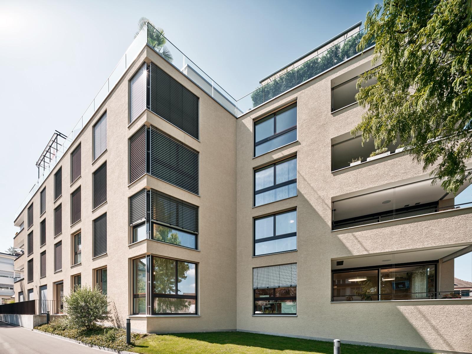 Architekturfotografie - Referenzobjekt - Wädenswil Wädi-City - Mächler Generalunternehmung AG