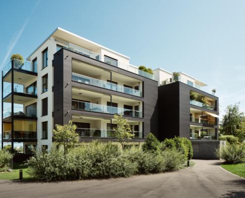 Architekturfotografie - Referenzobjekt - Au-Wädenswil - Au-Sicht - Mächler Generalunternehmung AG / Hatt Architektur