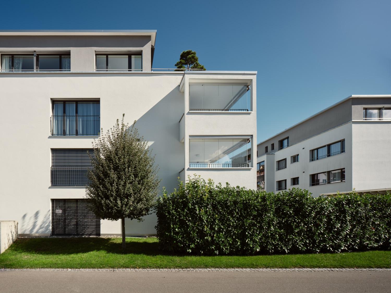 Architekturfotografie - Referenzobjekt - Siebnen - Ilgenwiese EWHG - Mächler Generalunternehmung AG / MB Architektur