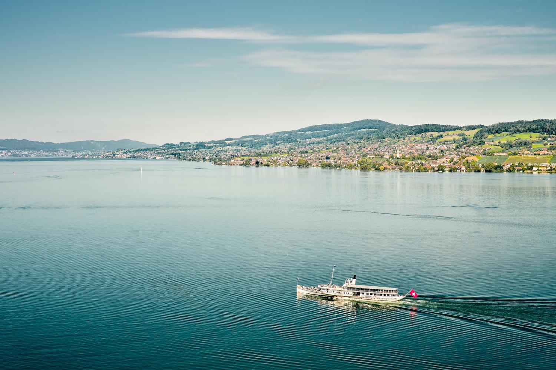 Dampfschiff Stadt Rapperswil Zürichsee
