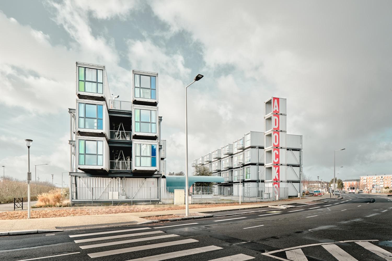 Frankreich Le Havre A'Docks - A'Docks - Studentenwohnungen in Überseecontainer