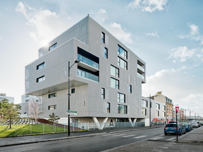 Frankreich / Le Havre / CÔTÉ DOCK / Architekt Philippe Dubus