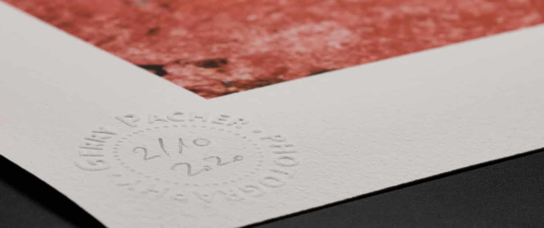 Limitierte Fine Art Prints by Gerry Pacher