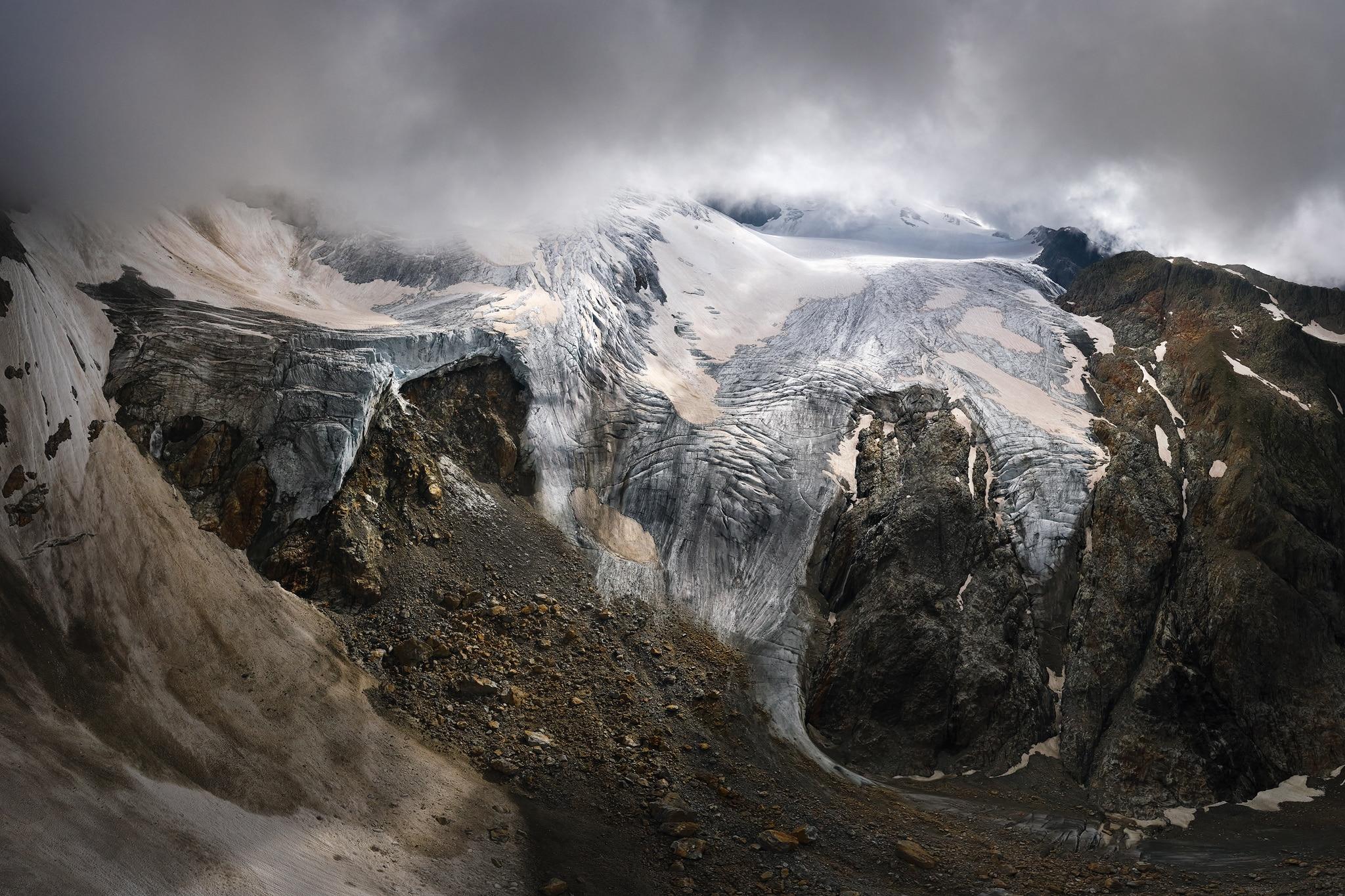 Luftaufnahme - Panorama - Steingletscher - Sustenpass