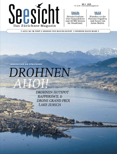 Cover Bild von Gerry Pacher Fotografie für das Zürichsee-Magazin Seesicht Nr. 3/2018