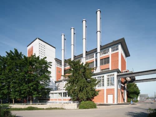 Architekturfotografie: Fotografische Dokumentation der sanierten Heizzentrale EMPA / EAWAG an der Überlandstrasse 129 in Dübendorf
